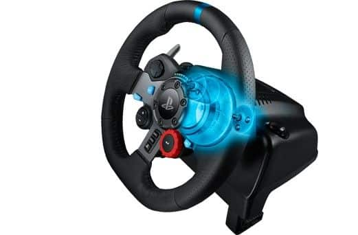 Logitech G29 Force Feedback Racing Wheel - Inside