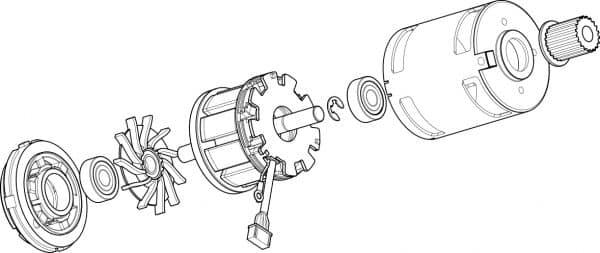 Thrustmaster T-GT Racing Wheel - Servo Motor
