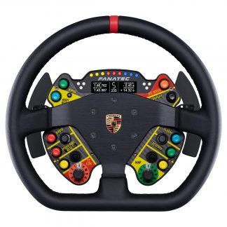 ClubSport Steering Wheel Porsche 911 GT3 R Leather