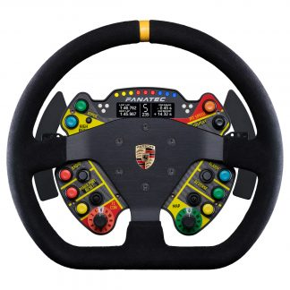 ClubSport Steering Wheel Porsche 911 GT3 R Suede